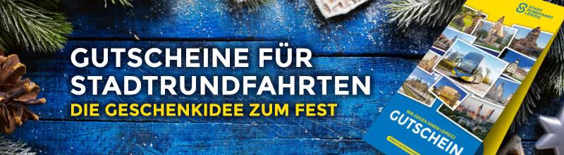 Verschenken Sie Gutscheine für Weihnachten in Leipzig